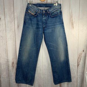 Diesel Quratt Jeans Relaxed Straight Wash 008AT